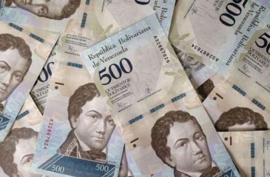 Billetes de Bs. 500