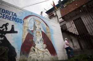 Religión y combate se mezclan en el ideario