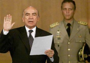 Carmona disolvió los cinco poderes y no lo llamaron dictador