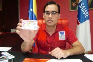 Dante Rivas aún no ha entregado la nueva cédula