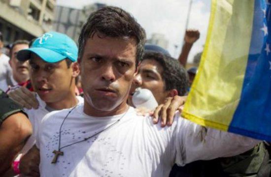 Leopoldo López obtiene casa por carcel