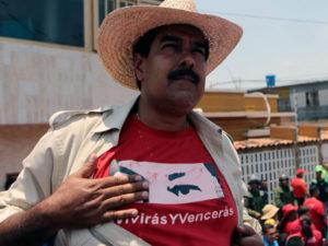 """""""Maduro no es Chávez"""", dice la gente."""