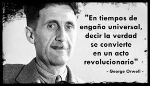 George Orwell previó el control tecnológico.