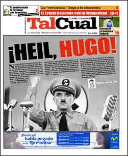 Tal Cual compara a Chávez con Hitler /TalCual