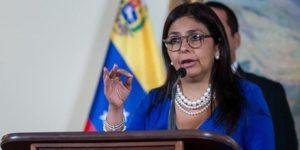 Delcy Rodríguez es clave en la ANC y en Mercosur