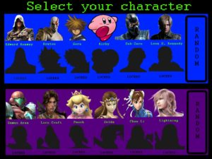 Selecciona tu personaje bloqueado