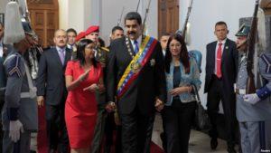 Maduro en su visita a la ANC /Reuters
