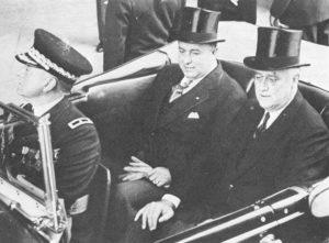 Somoza junto a Franklin D. Roosevelt
