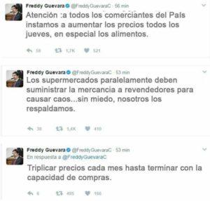 No hay cargos contra Freddy Guevara