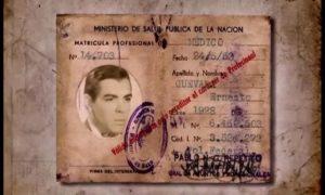 Credencial médica del Che Guevara