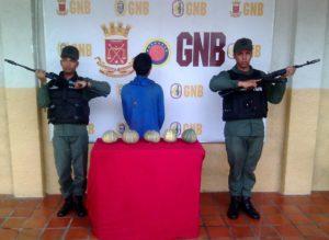 """GNB apresa a un """"peligroso"""" delincuente"""