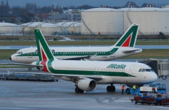 Aviones de Alitalia