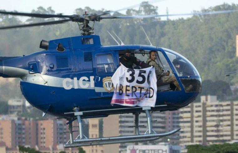 Helicóptero del Cicpc llama al 350