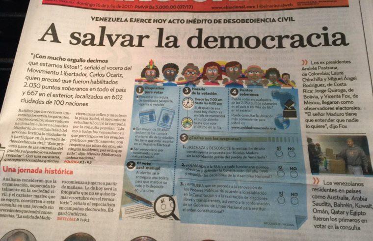 El Nacional 16 julio 2017